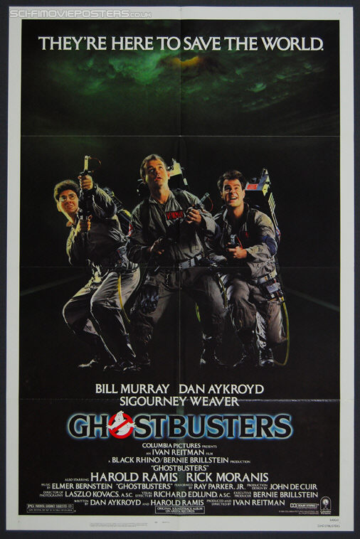 GhostBusters (1984) - Original US One Sheet Movie Poster