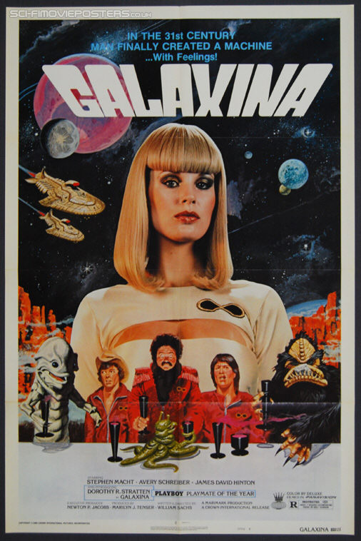 Galaxina (1980) Style 'B' - Original US One Sheet Movie Poster