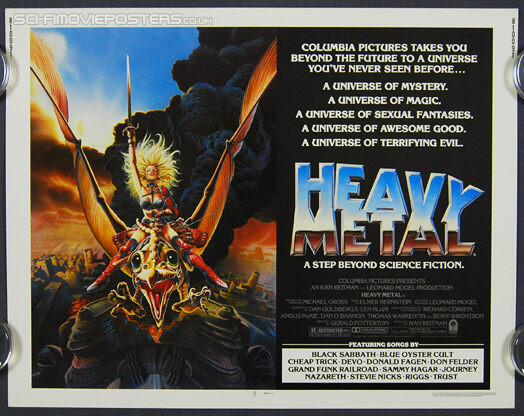 Heavy Metal (1981) - Original US Half Sheet Movie Poster