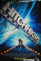Hitchhiker's Guide to the Galaxy, The (2005) - Original US One Sheet Movie Poster