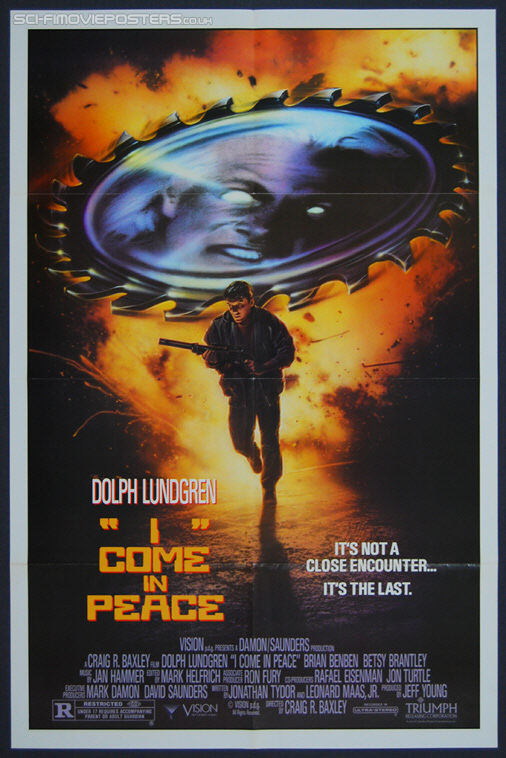I Come in Peace (1990) - Original US One Sheet Movie Poster