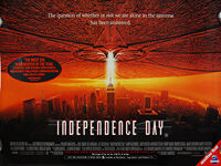 Independence Day (1996) - Original British Quad Movie Poster