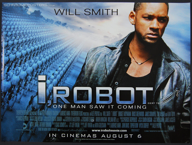 I, Robot (2004) - Original British Quad Movie Poster
