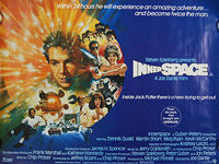 Innerspace (1987) - Original British Quad Movie Poster