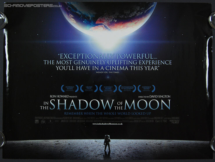 In the Shadow of the Moon (2007) - Original British Quad Movie Poster