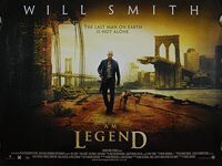 I Am Legend (2007) - Original British Quad Movie Poster