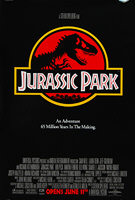 Jurassic Park (1993) - Original US One Sheet Movie Poster