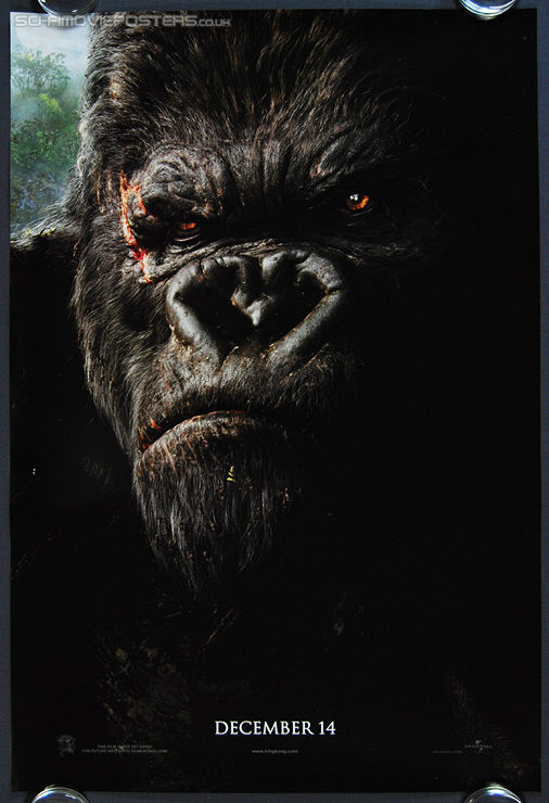 King Kong (2005) Advance - Original US One Sheet Movie Poster
