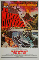 Land That Time Forgot, The (1975) - Original Spanish One Sheet Movie Poster