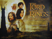 Lord of the Rings: The Two Towers, The (2002) - Original British Quad Movie Poster