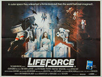 Lifeforce (1985) - Original British Quad Movie Poster