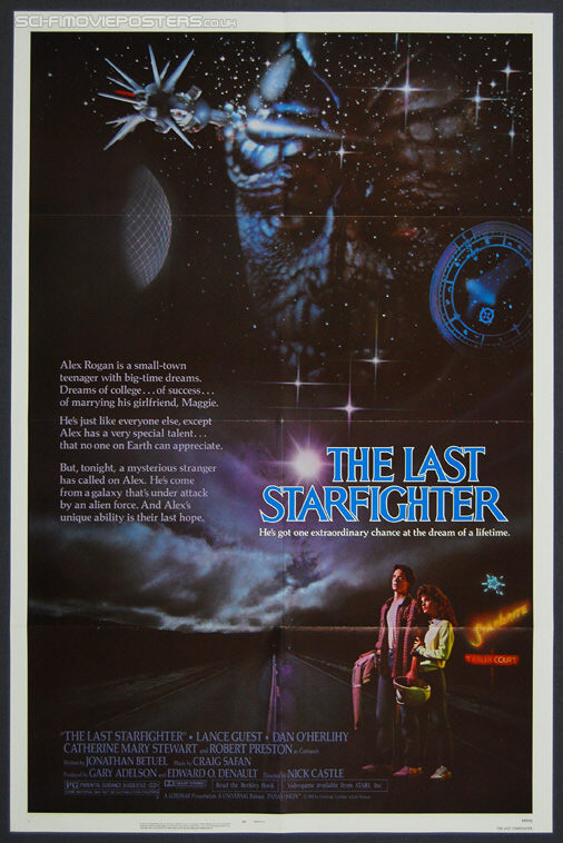 Last Starfighter, The (1984) - Original US One Sheet Movie Poster