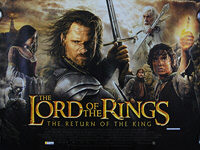 Lord of the Rings: The Return of the King, The (2003) - Original British Quad Movie Poster