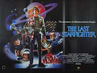 Last Starfighter, The (1984) - Original British Quad Movie Poster