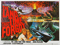 Land That Time Forgot, The (1975) - Original British Quad Movie Poster
