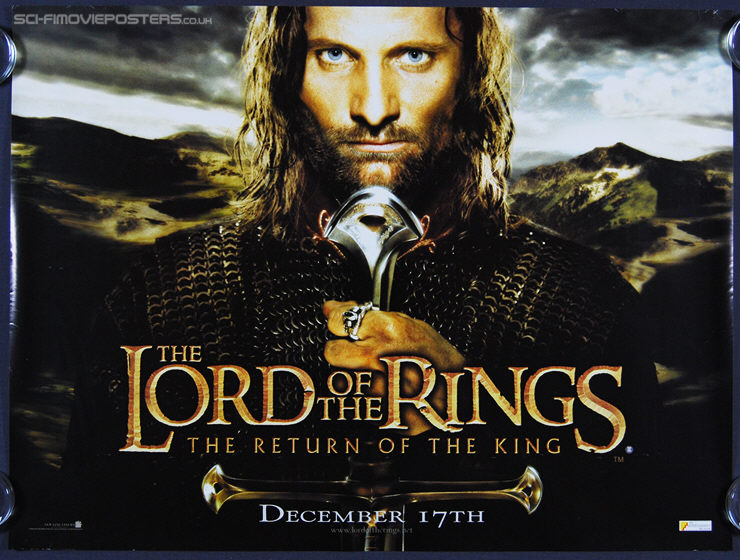 Lord of the Rings: The Return of the King, The (2003) Advance- Original British Quad Movie Poster