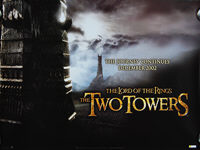 Lord of the Rings: The Two Towers, The (2002) Advance - Original British Quad Movie Poster