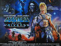 Masters of the Universe (1987) - Original British Quad Movie Poster