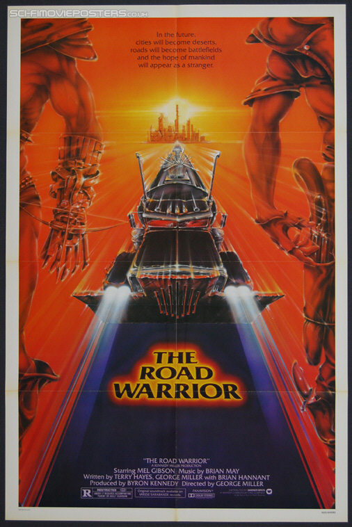Mad Max 2: The Road Warrior (1981) - Original US One Sheet Movie Poster