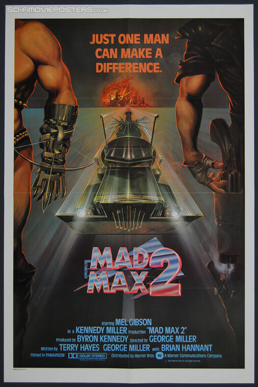 Mad Max 2: The Road Warrior (1981) International - Original One Sheet Movie Poster