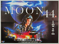 Moon 44 (1990) - Original British Quad Movie Poster