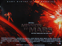 Mission to Mars (2000) - Original British Quad Movie Poster
