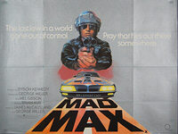 Mad Max (1979) - Original British Quad Movie Poster