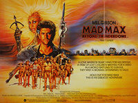 Mad Max Beyond Thunderdome (1985) - Original British Quad Movie Poster