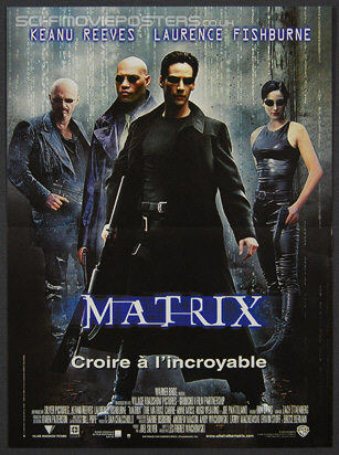 Matrix, The (1999) - Original French Movie Poster