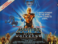 Masters of the Universe (1987) Advance - Original British Quad Movie Poster