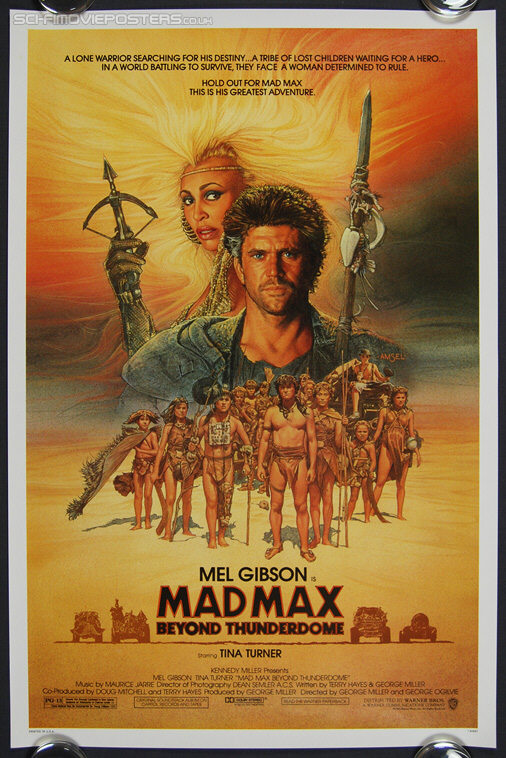 Mad Max Beyond Thunderdome (1985) - Original US One Sheet Movie Poster