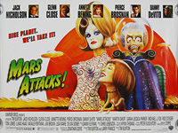 Mars Attacks! (1996) - Original British Quad Movie Poster