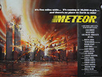 Meteor (1979) - Original British Quad Movie Poster