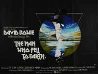 Man Who Fell to Earth, The (1976) - Original British Quad Movie Poster