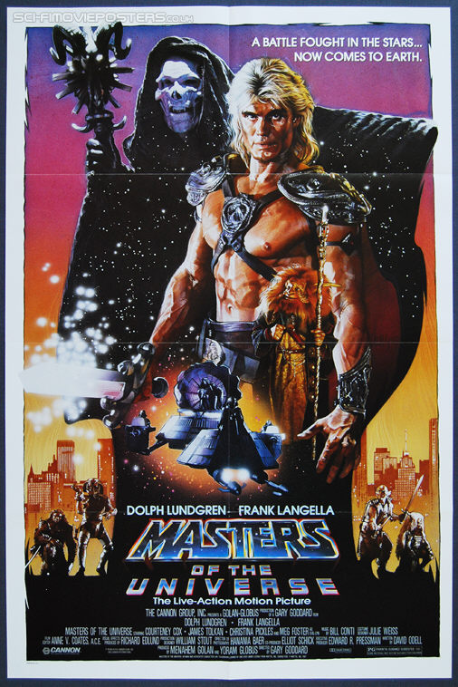 Masters of the Universe (1987) - Original US One Sheet Movie Poster