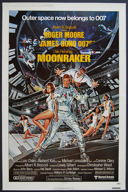 Moonraker (1979) - Original US One Sheet Movie Poster