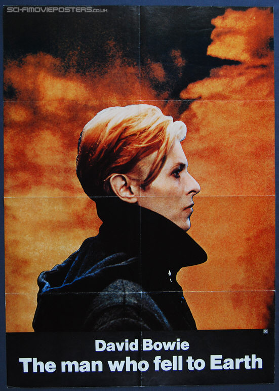 Man Who Fell to Earth, The (1976) Teaser - Original US One Sheet Movie Poster