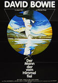 Man Who Fell to Earth, The (1976) - Original German Movie Poster
