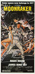 Moonraker (1979) - Original Australian Daybill Movie Poster