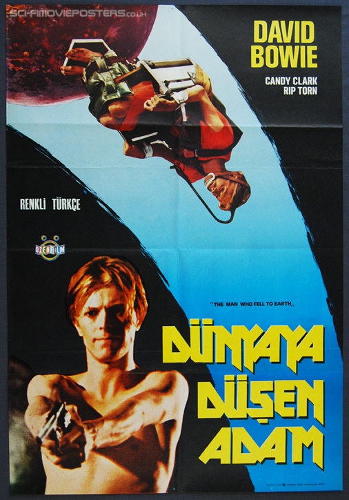 Man Who Fell to Earth, The (1976) - Original Turkish Movie Poster