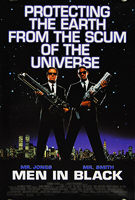 Men In Black (1997) (Faces) - Original US One Sheet Movie Poster