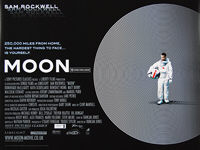Moon (2009) - Original British Quad Movie Poster