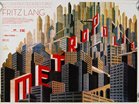 Metropolis (1927) 2010 Re-release - Original British Quad Movie Poster
