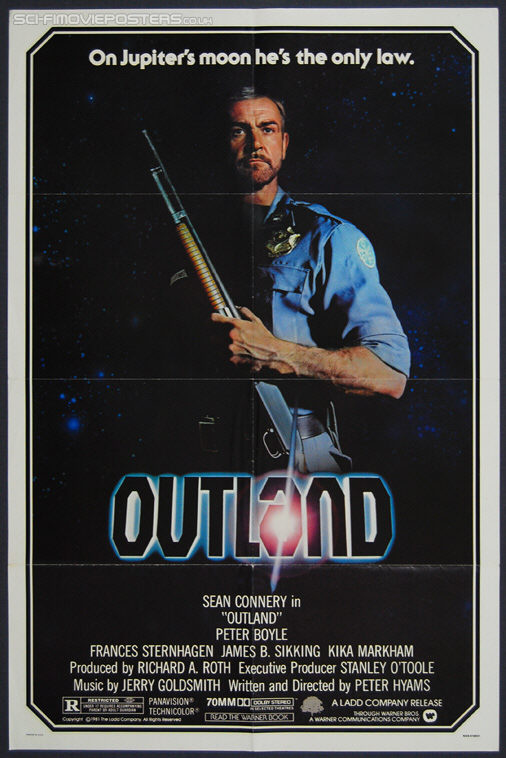 Outland (1981) - Original US One Sheet Movie Poster