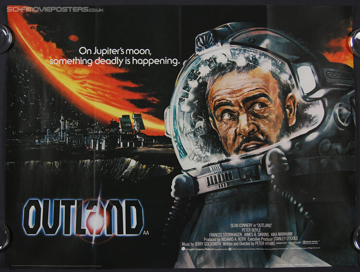 Outland (1981) - Original British Quad Movie Poster