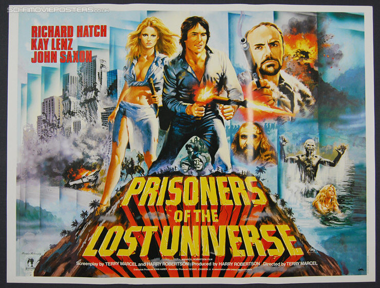 Prisoners of the Lost Universe (1983) -Original British Quad Movie Poster