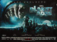 Planet of the Apes (2001) - Original British Quad Movie Poster