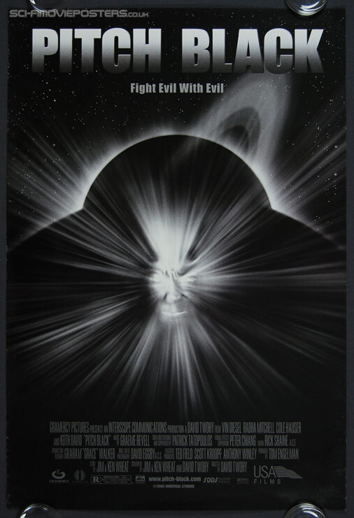 Pitch Black (2000) - Original US One Sheet Movie Poster