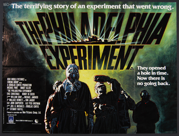 Philadelphia Experiment, The (1984) - Original British Quad Movie Poster