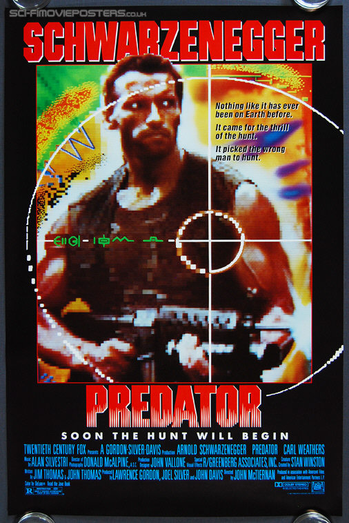 Predator (1987) - Original US One Sheet Movie Poster